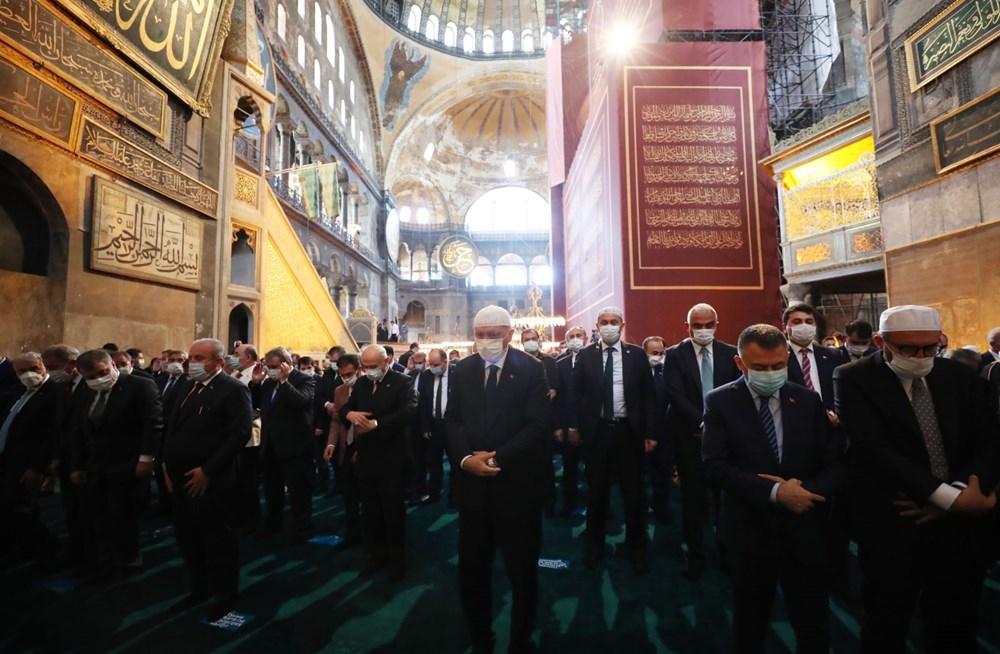 Ayasofya-i Kebir Camii Şerifi ibadete açıldı (Ayasofya'da 86 yıl sonra ilk namaz) - 16