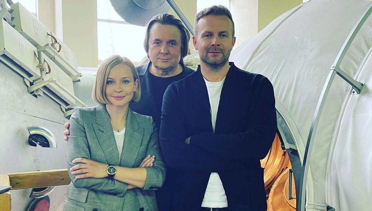 Rusya ve ABD arasında film yarışı: Klim Shipenko ve Yulia Peresild uzaya gidiyor