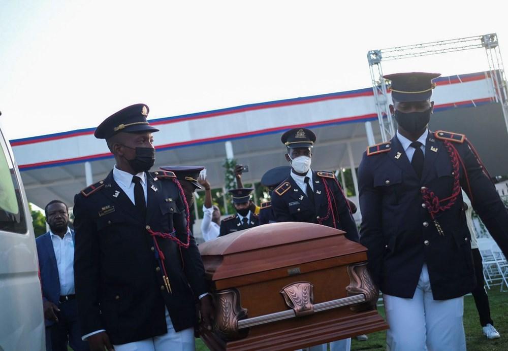 Suikasta uğrayan Haiti Devlet Başkanı'na cenaze töreni düzenlendi - 13