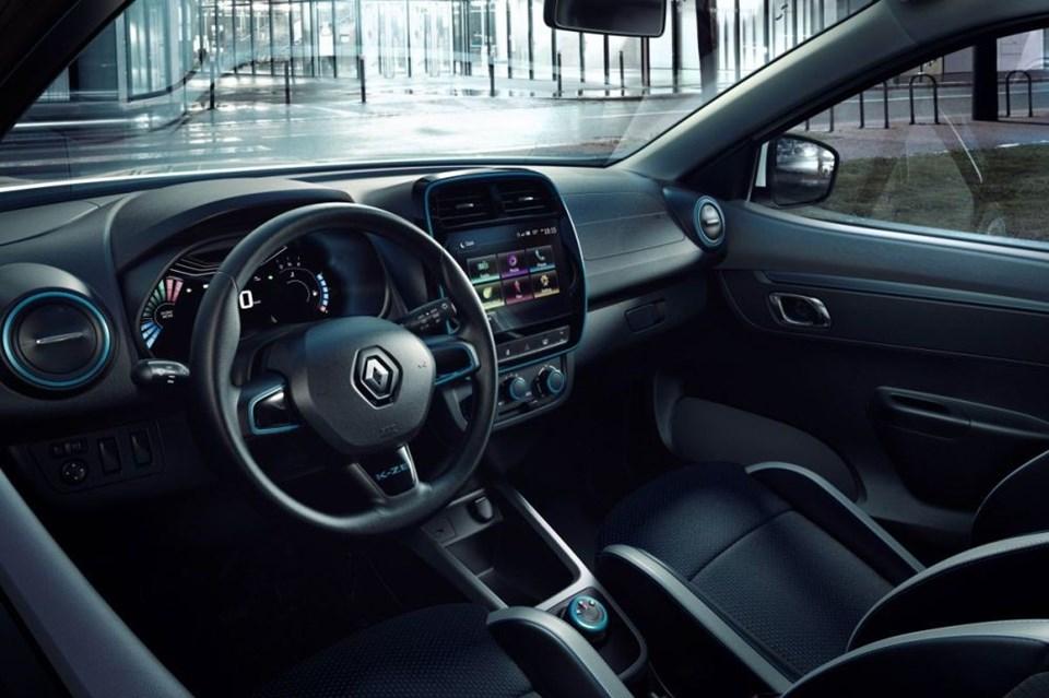 Renault K-ZE'nin içi