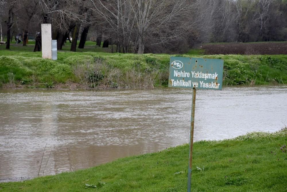 Tunca Nehri bir haftada 4 kat arttı: Sarı alarm verildi - 3