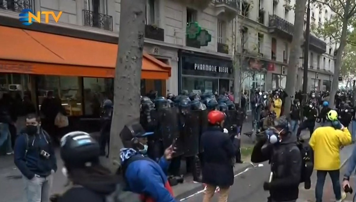 Eventful May 1 demonstrations in Paris