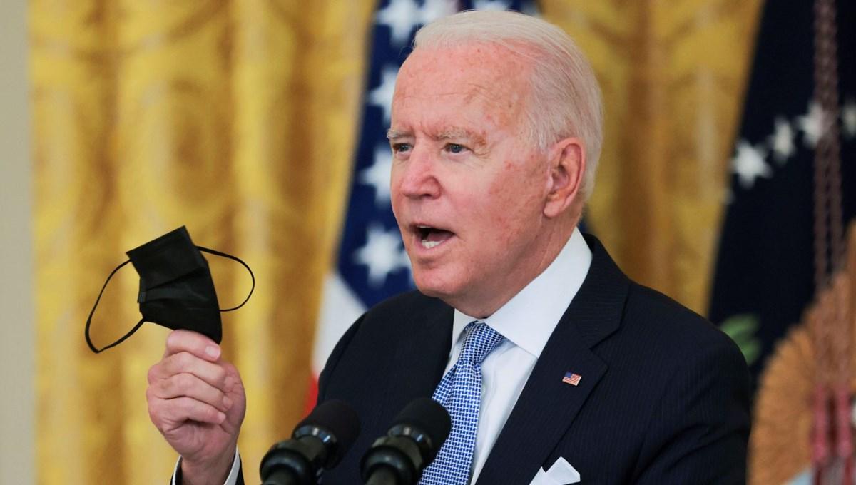 ABD Başkanı Biden'dan yeni aşılananlar için 100 dolarlık teşvik çağrısı