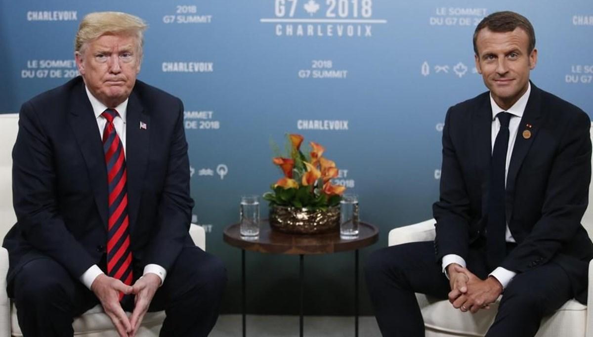 Beyaz Saray: Trump ve Macron telefonda Türkiye ve Yunanistan arasındaki gerginliği görüştü