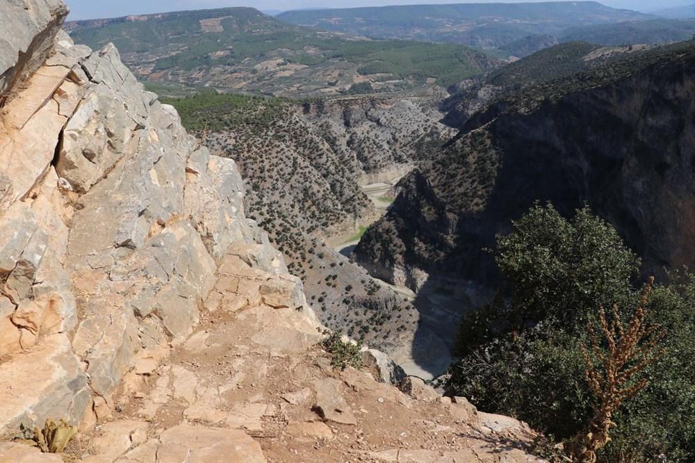 Doğa harikası İnceğiz Kanyonu'nun suyu çekildi - 5
