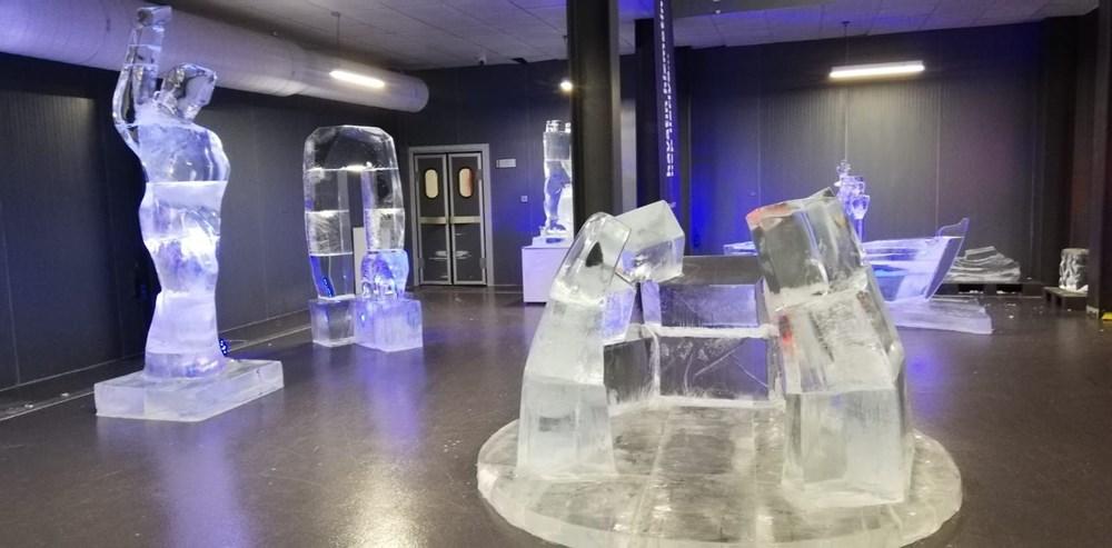 Buz'u sanata dönüştürdüler: Atabuz Müzesi 2021 yılının ilk ayında iki farklı sergiye ev sahipliği yapıyor - 2