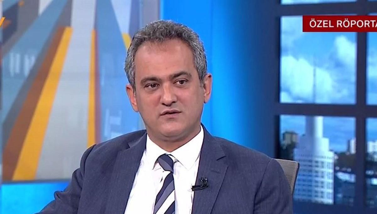 Milli Eğitim Bakanı Mahmut Özer NTV'de
