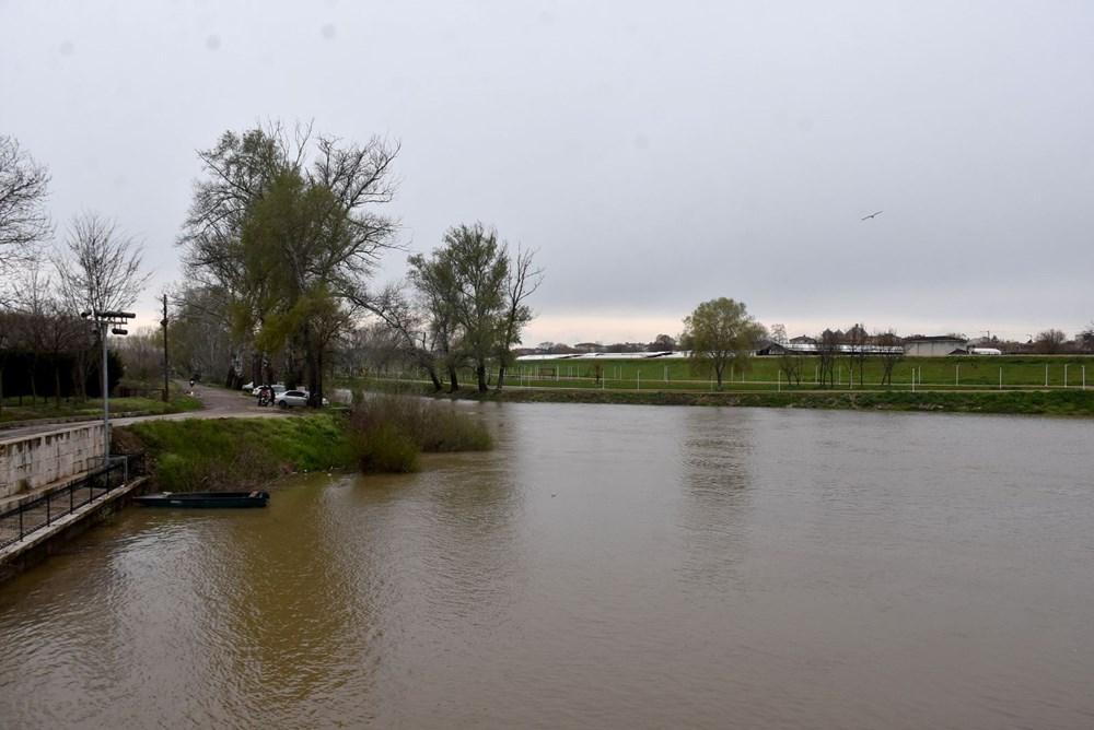 Tunca Nehri bir haftada 4 kat arttı: Sarı alarm verildi - 8