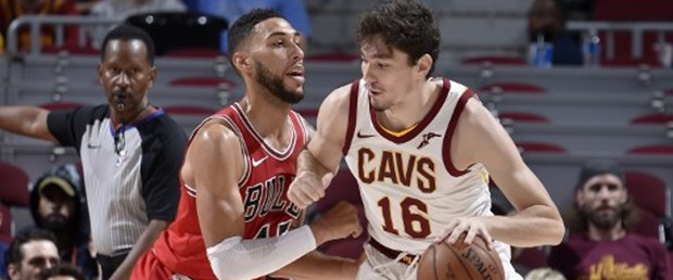 04681cb70 Milli basketbolcu Cedi Osman ın formasını giydiği Cleveland Cavaliers