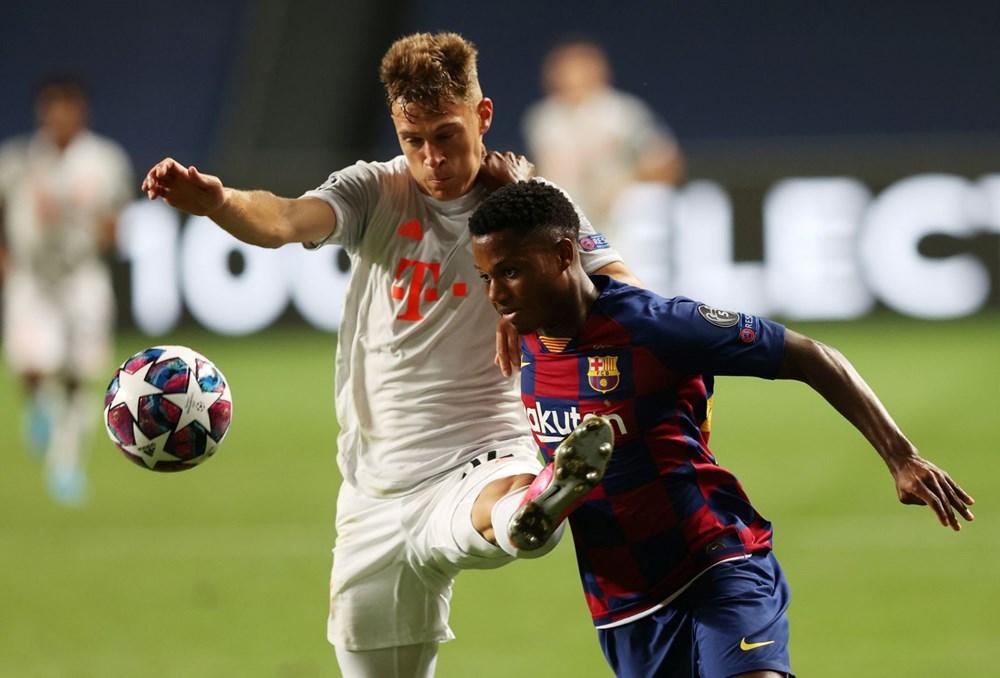 Bayern Münih'ten Barcelona'ya tarihi hezimet - 9