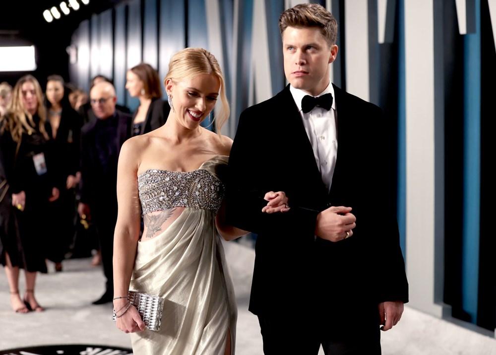 Scarlett Johansson ile komedyen Colin Jost evlendi - 1