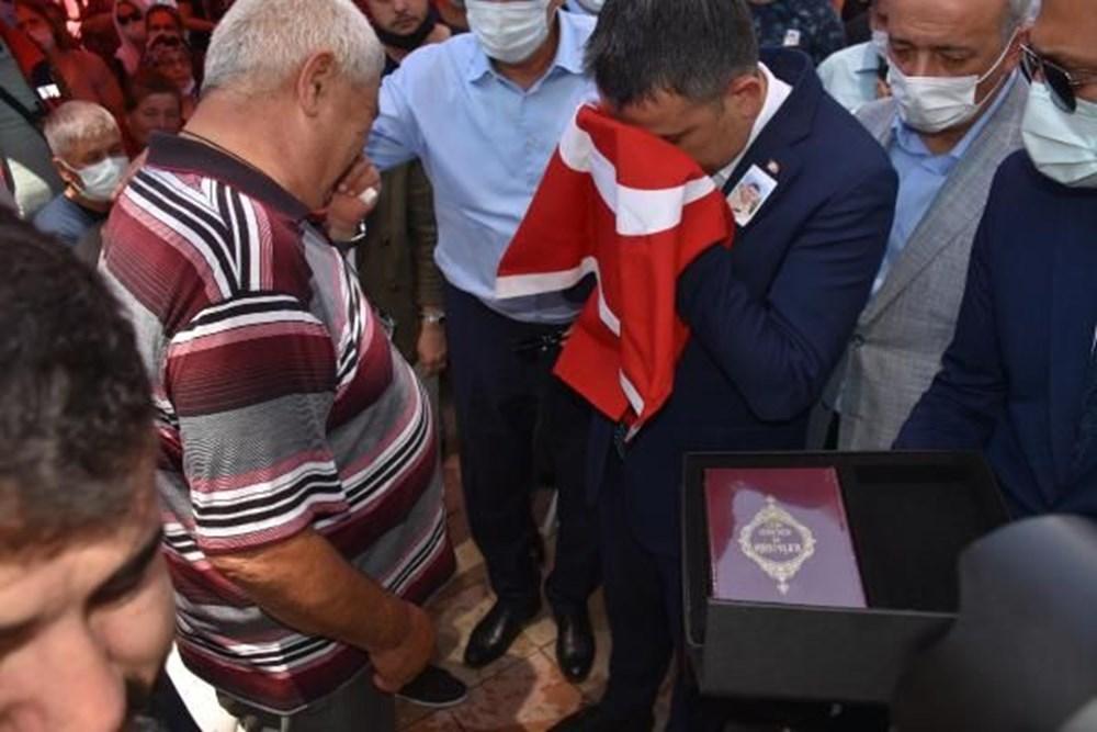 Muğla'da 'orman şehidi' törenle son yolculuğuna uğurlandı - 34