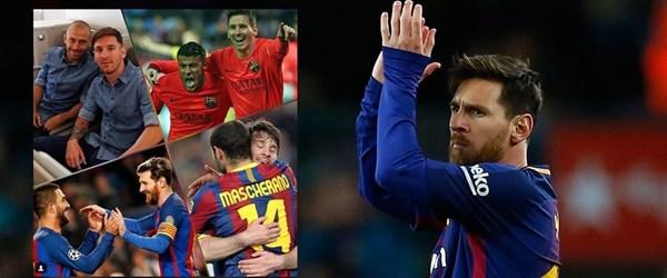 Messi'den Arda'ya veda mesajı