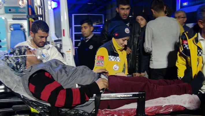Kilis'te 7 işçi jeneratörden sızan gazdan etkilendi