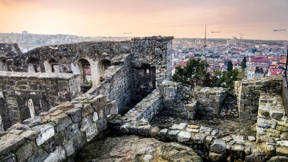 Trabzon'da restorasyonu tamamlanan Kızlar Manastırı ziyarete açıldı - 17