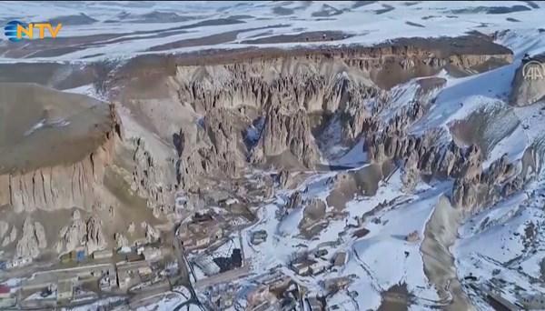 Van'ın Kapadokya'sı koruma altında (Yavuzlar Peri Bacaları)