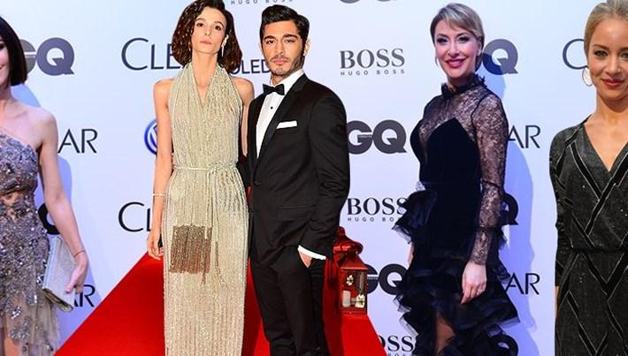 GQ Türkiye Men Of The Year 2017 Ödül töreninde şıklık yarışı (Kırmızı halı)
