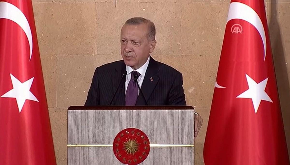 Cumhurbaşkanı Erdoğan: Taliban liderlerinden gelen mesajlara şimdilik ihtiyatlı bir iyimserlikle yaklaşıyoruz