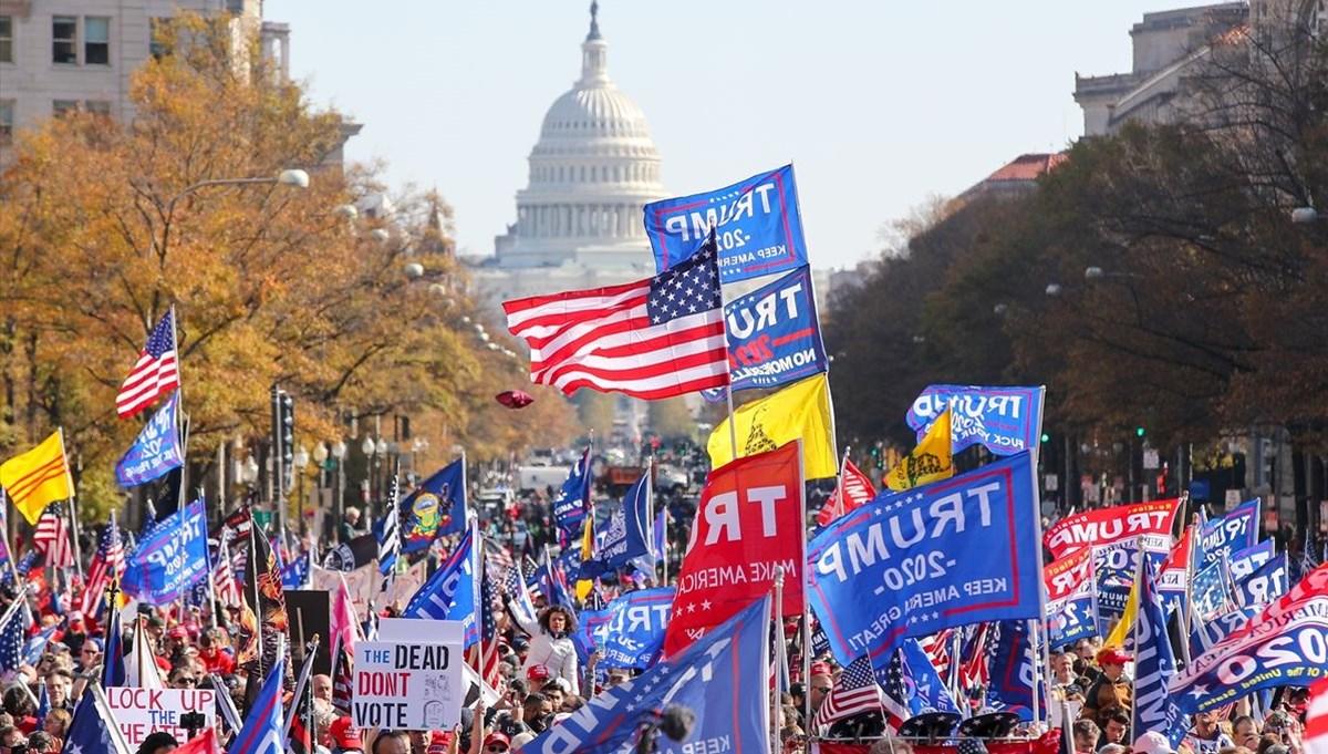 Trump destekçileri sokağa çıktı
