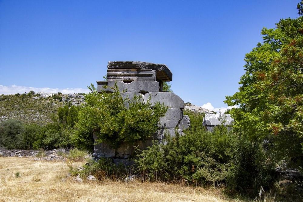 2 bin yıllık Sidyma Antik Kenti içinde yerleşik hayat - 9