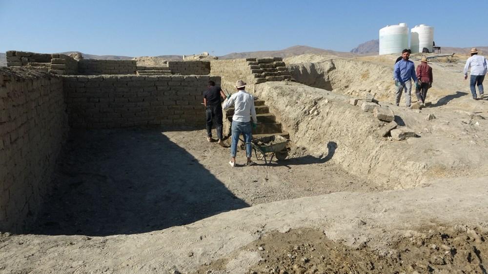 Urartular'a ait 2 bin 750 yıllık tahıl ambarları koruma altına alınıyor - 10