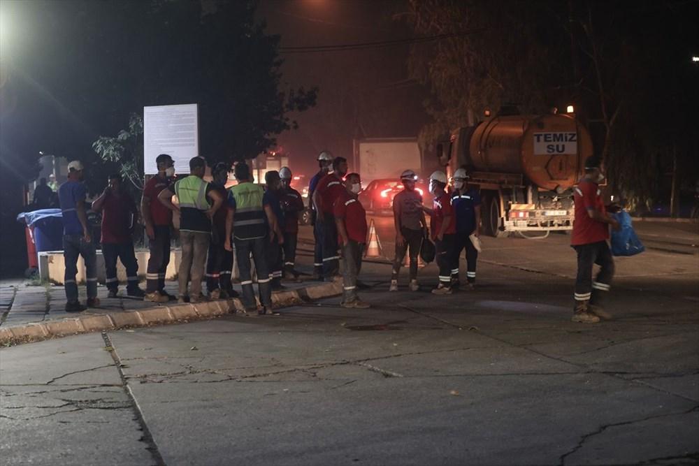 Milas'ta yangın bölgesindeki vatandaşlar tahliye ediliyor - 15