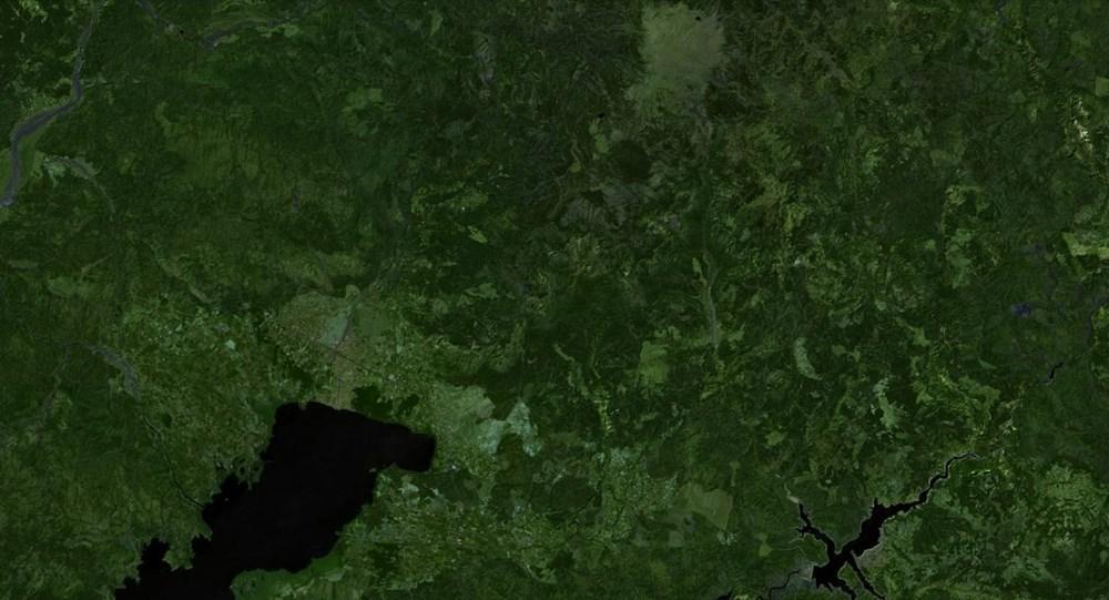 Orman yangınları uydudan böyle görüntülendi - 9