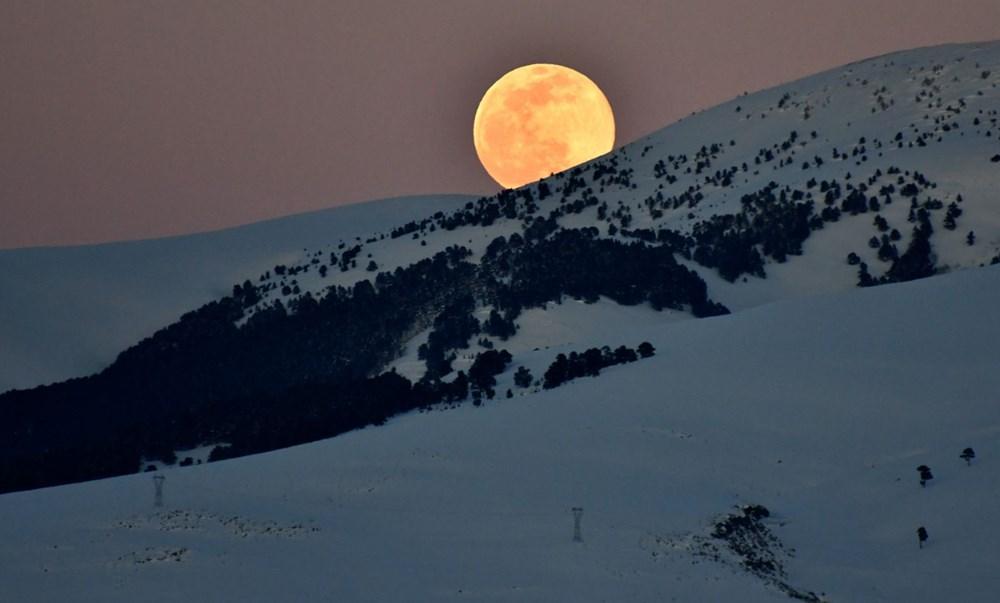 Yurttan 'Süper Solucan Ay' manzaraları - 9