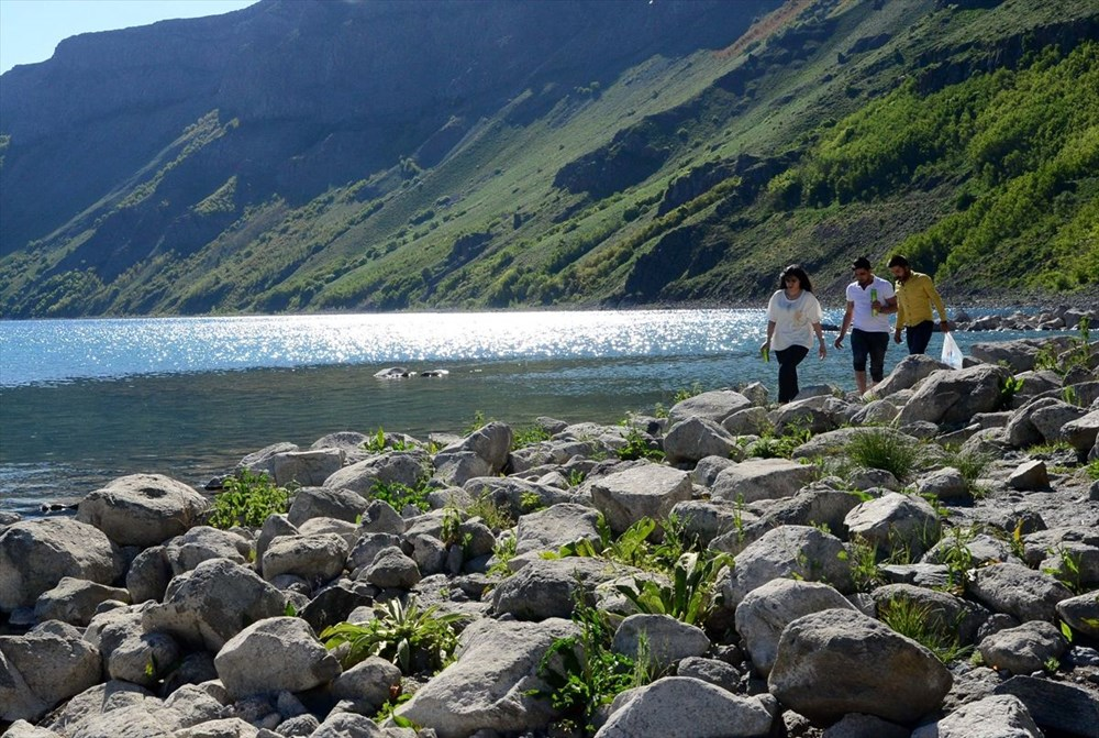 'Türkiye'nin en büyük krater gölü' Nemrut ziyarete açıldı - 5