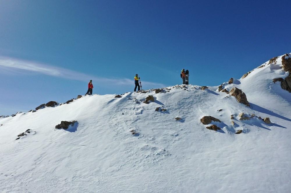 Burası Alp Dağları değil, Hakkari Merga Bütan Kayak Merkezi - 16