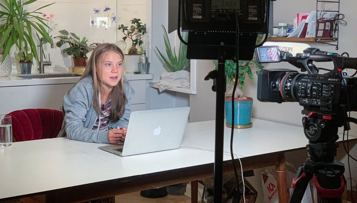 Greta Thunberg: Biden ile görüşürüm, ama bir umudum yok
