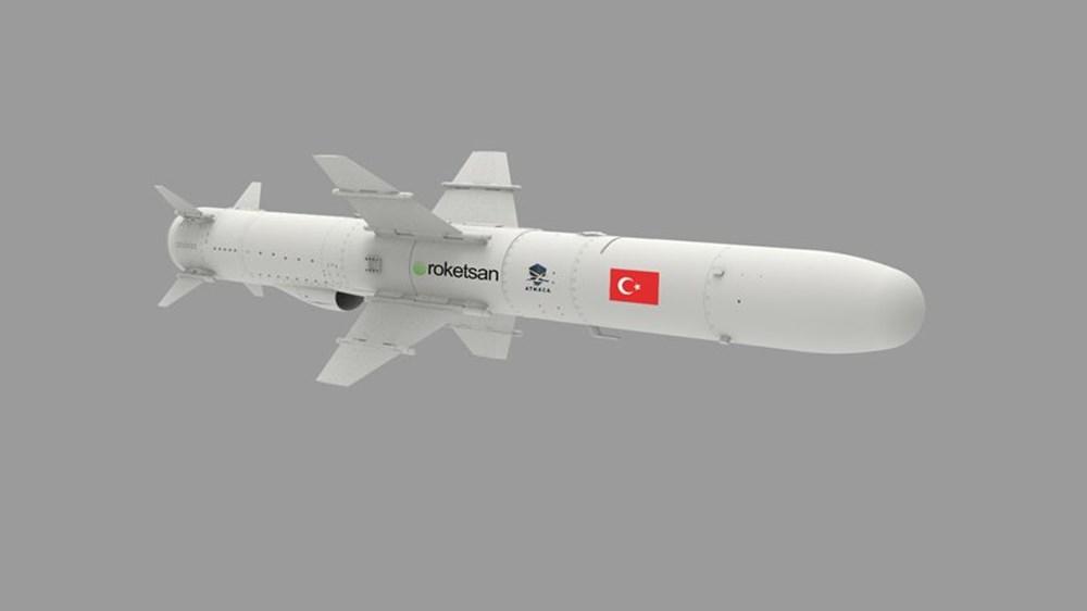 Türkiye'nin ilk deniz seyir füzesi 'Atmaca' hedefini başarıyla vurdu (Türkiye'nin yeni nesil silahları) - 2