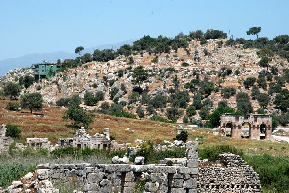 Patara Antik Kenti'ne çeyrek milyon ziyaretçi - 6