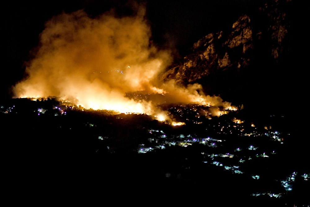 Forest fire in Greece: Extinguishing work continues - 4
