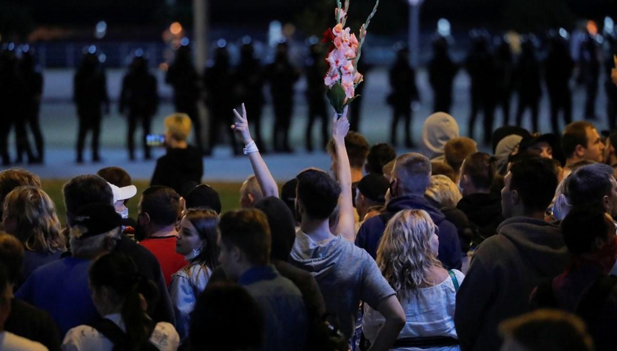 Belarus'taki protesto gösterilerinde bir kişi hayatını kaybetti