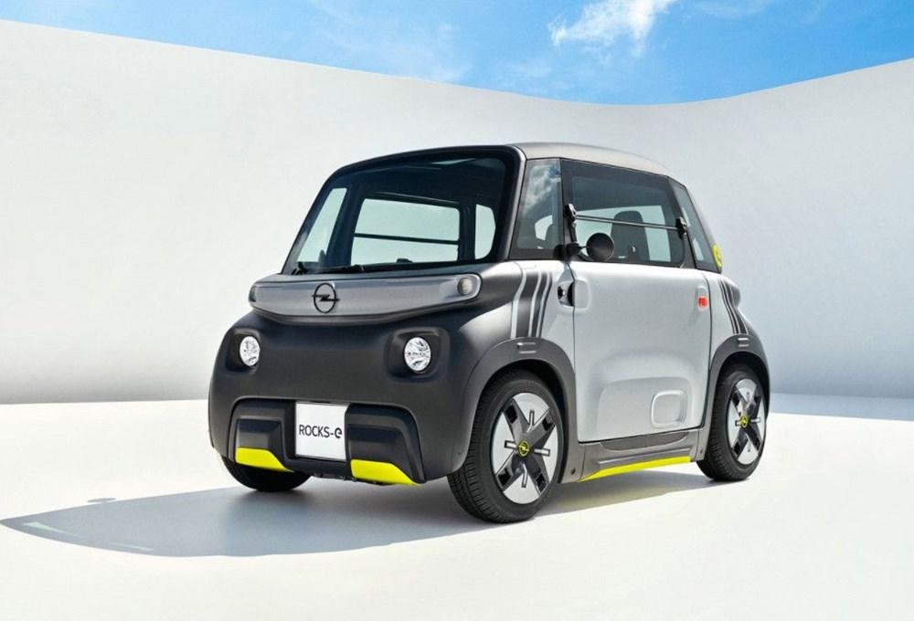 Opel'den elektrikli şehir aracı: Rocks-e - 2