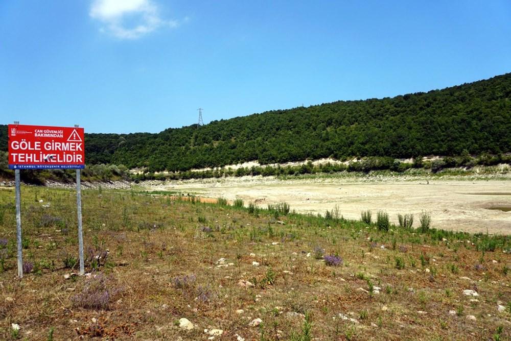 İstanbul'un su ihtiyacını karşılayan Trakya'daki barajlar kurudu - 3