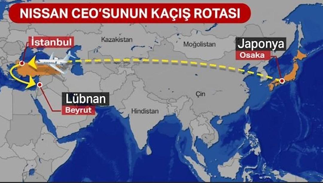Nissan eski CEO'su Carlos Ghosn Japonya'dan Lübnan'a nasıl kaçtı?