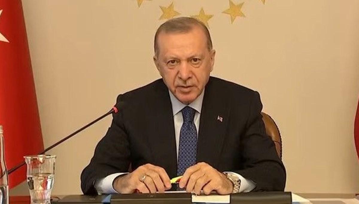 Cumhurbaşkanı Erdoğan: Türkiye yeni bir göç yükünü taşıyamaz