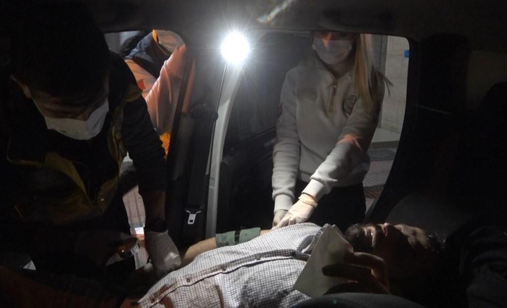 'Ben boksörüm' deyip gazetecinin burnunu kırdı - 15