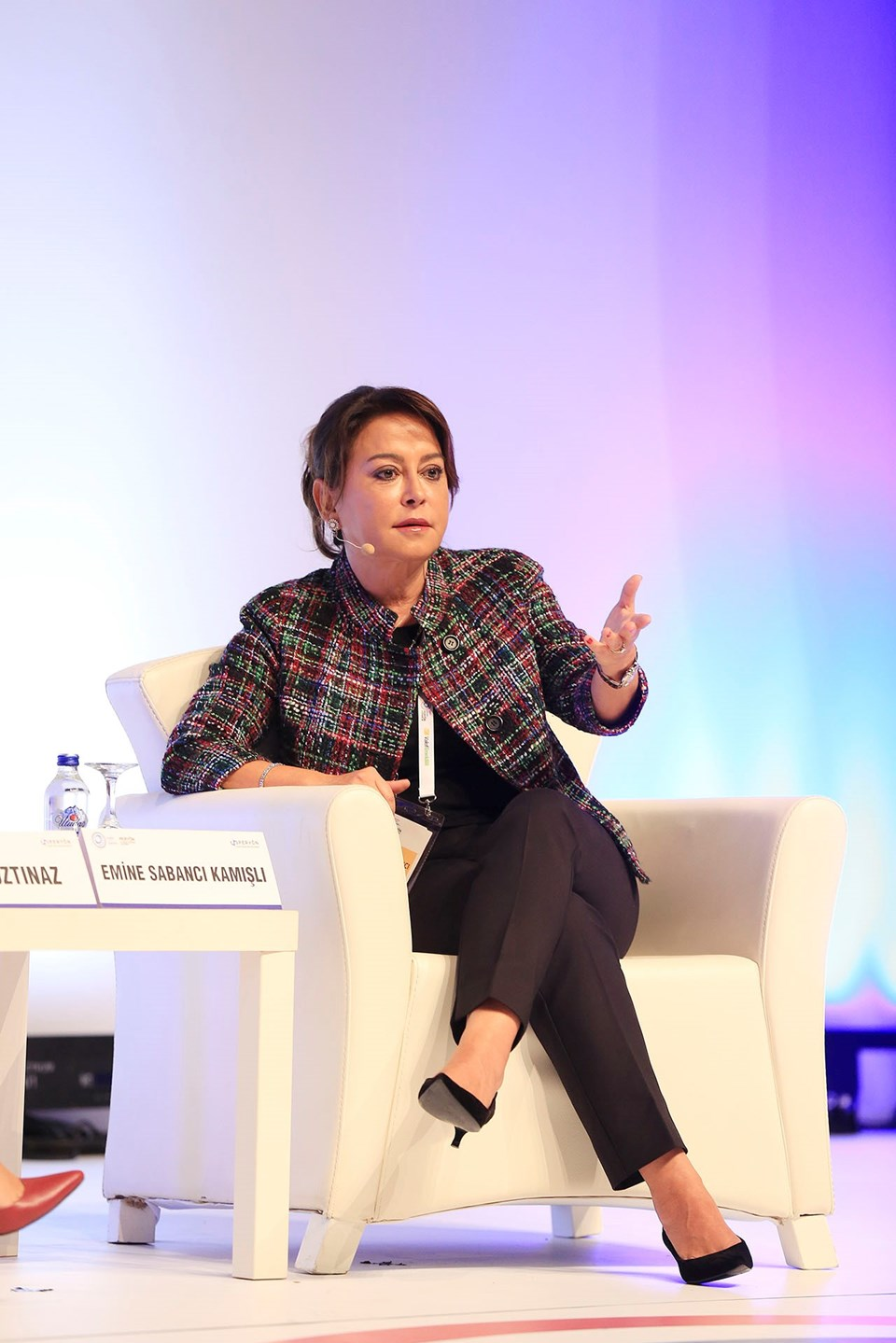 Esas Holding Yönetim Kurulu Başkan Yardımcısı, Esas Sosyal Başkanı Emine Sabancı Kamışlı