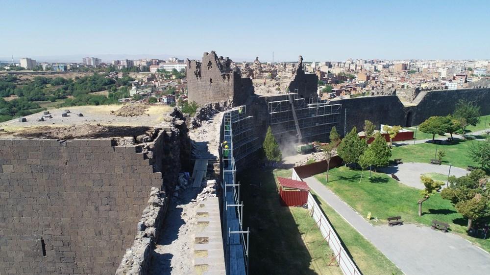 UNESCO mirası Diyarbakır Surları'nda 500 günlük restorasyon başladı - 7