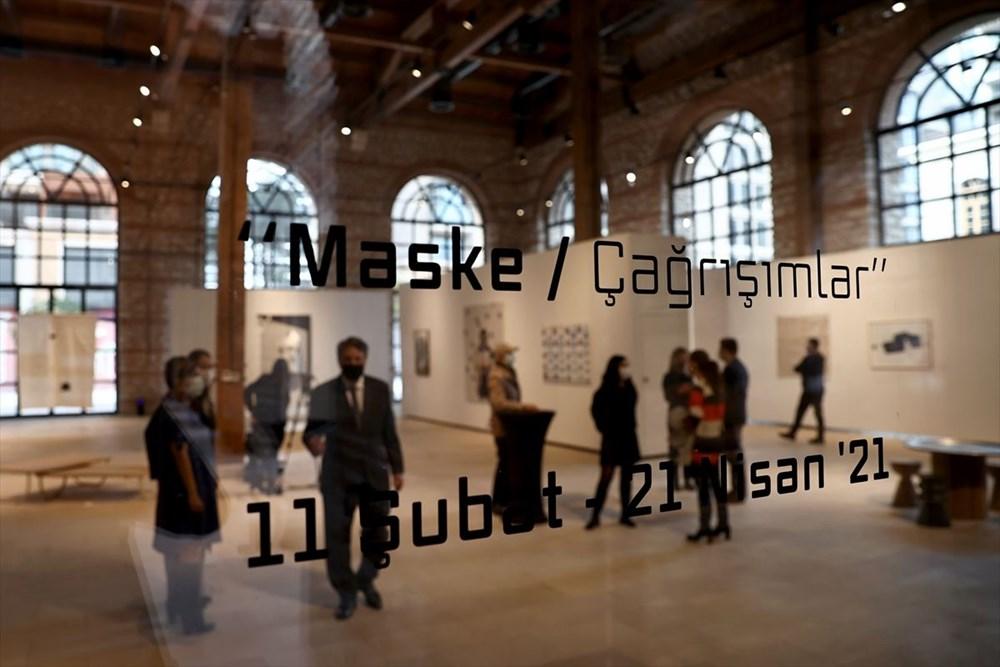 """""""Maske/Çağrışımlar"""" sergisi Fişekhane'de - 4"""