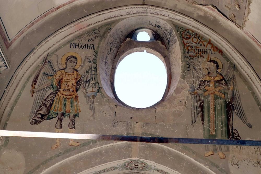 Definecilerin tahrip ettiği tarihi kilise, restore edilecek - 4