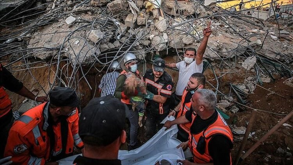 Hamas'ın Gazze'de kullandığı tüneller görüntülendi: İsrail'in hedefinde - 21