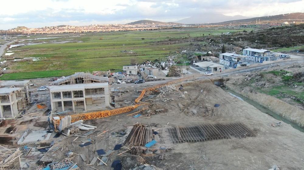 İzmir'de hortum felaketinin boyutları gün ağarınca ortaya çıktı - 3