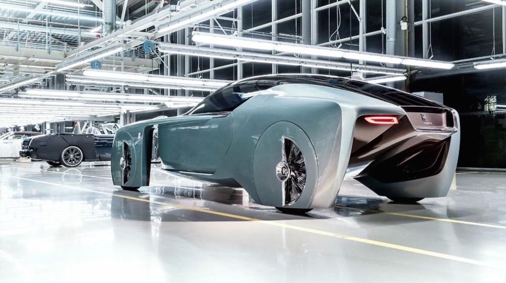 Rolls-Royce'un ilk elektrikli otomobili: İsmi açıklandı - 11