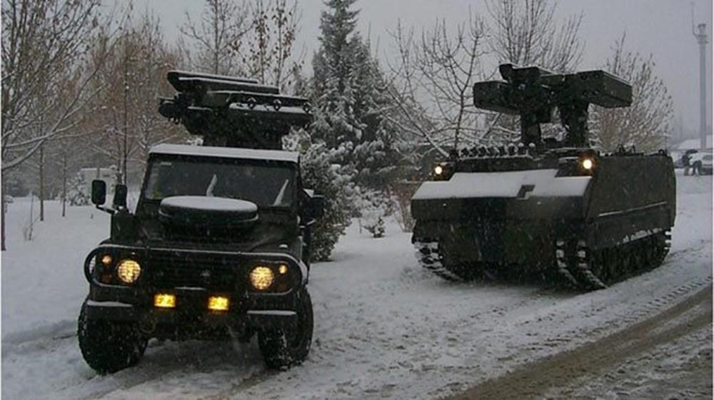 Dijital birliğin robot askeri Barkan göreve hazırlanıyor (Türkiye'nin yeni nesil yerli silahları) - 175