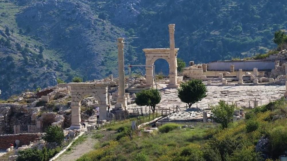 Burdur'unantik güzelliği: Sagalassos Antik Kenti - 4