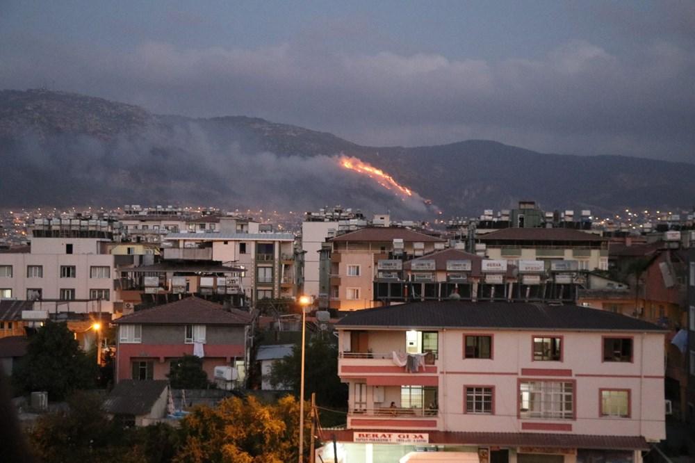 Hatay ve Mersin'de orman yangını - 8